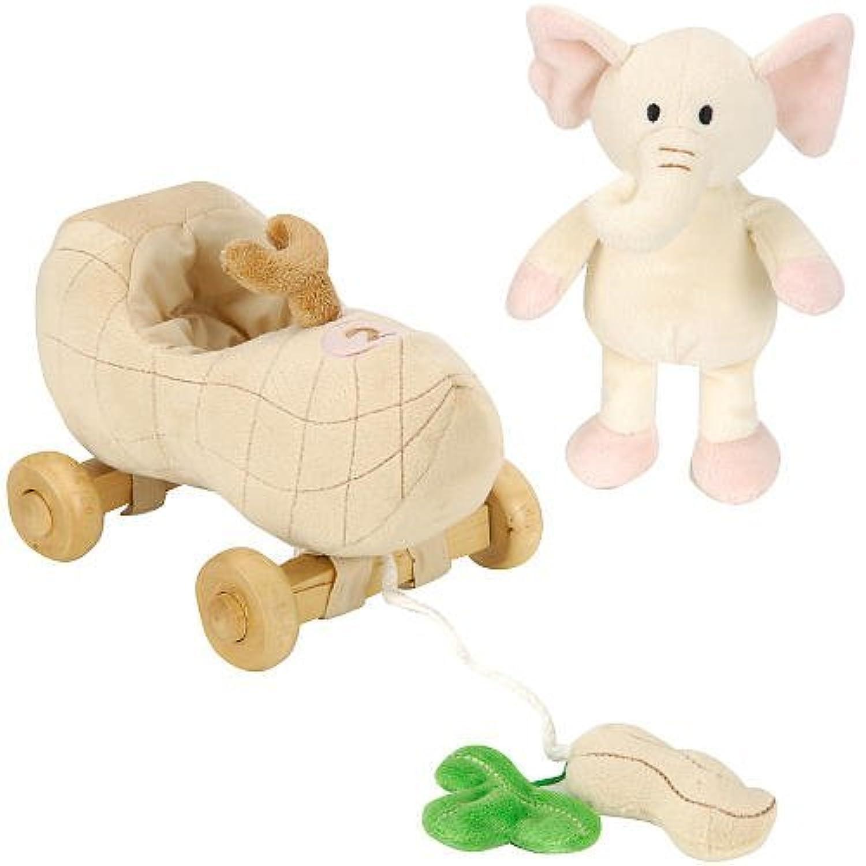 FAO Schwarz Baby Elephant Pull Toy by FAO Schwarz