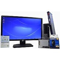 デスクトップパソコン 【OFFICE搭載】 【23インチ FullHD (1920×1080) 液晶モニターセット】 SSD 240GB (新品換装) DELL OptiPlex 980 スモールフォームファクタ(SFF) Core i7 870 /4GB/240GB/DVDROM/ATI RADEON HD 3450/Windows 7 / 新品USBマウス・キーボード付