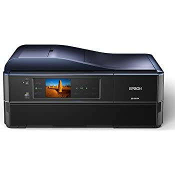 EPSON Colorio インクジェット複合機 EP-904A 有線・無線LAN標準対応 スマートフォンプリント対応 先読みガイド&カンタンLEDナビ搭載 自動両面標準搭載 6色染料インク