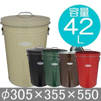 RoomClip商品情報 - ゴミ箱 ふた付き OBAKETSU オバケツ 容量42リットル 赤