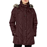 LONDON FOG Women's Diamond Quilted Down Coat