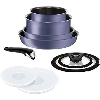 ティファール フライパン 鍋 9点 セット IH対応 「 インジニオ・ネオ IHセレナーデ・エクセレンス セット9 」 チタン エクセレンス 6層コーティング L66491 取っ手のとれる T-fal