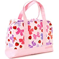 おしゃれKidsのセミボストン(ファスナー付きプールバッグ) いちごとリボンで満点ラブリー(ピンク) N2901800