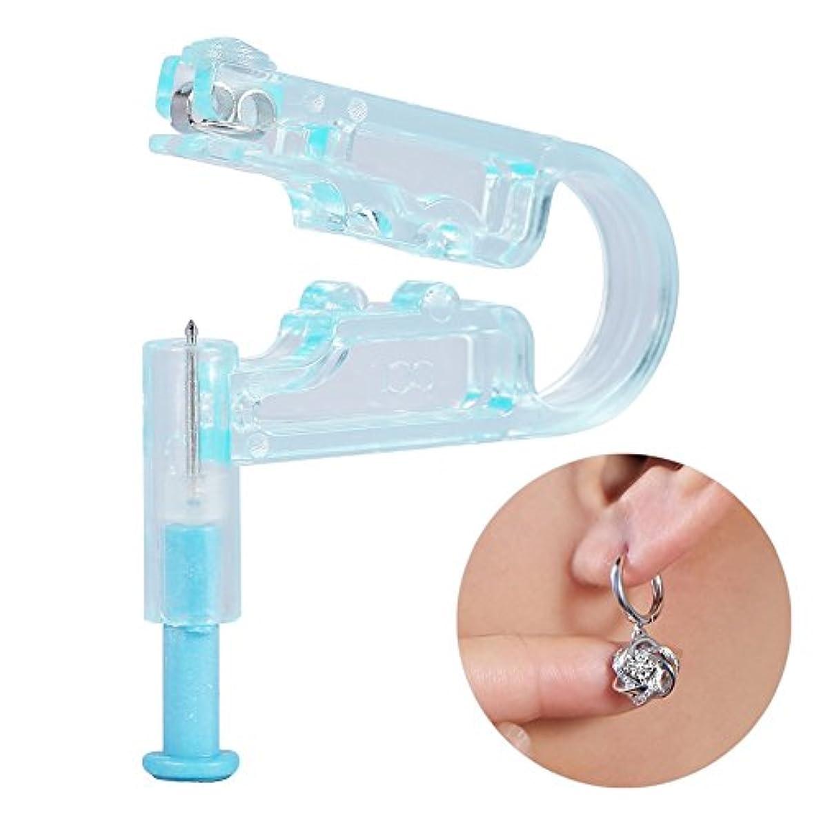 ミス心理的スプレー6PCS /アルコール準備パッドが付いている使い捨て可能な無菌耳のピアス銃用具