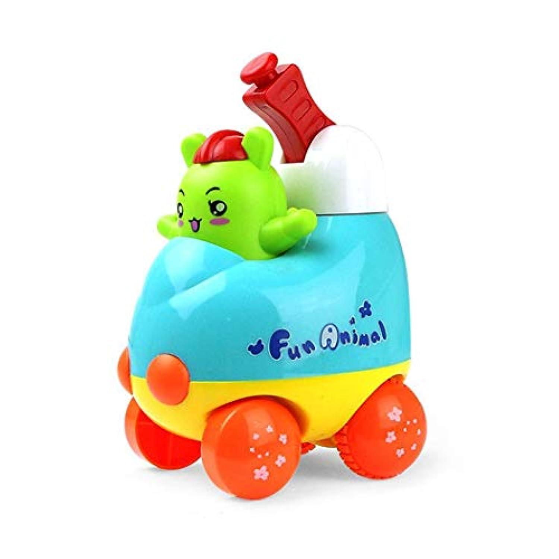 Kizaen キュートカートゥーン おもちゃ カーレーサー 幼児向けおもちゃ 誕生日プレゼント 3歳 男の子 女の子 キッズ