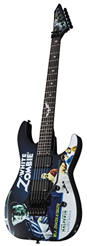 ESP LTD Kirk Hammett シグネチャー White Zombie Graphic エレキギター エレキギター エレクトリックギター (並行輸入)