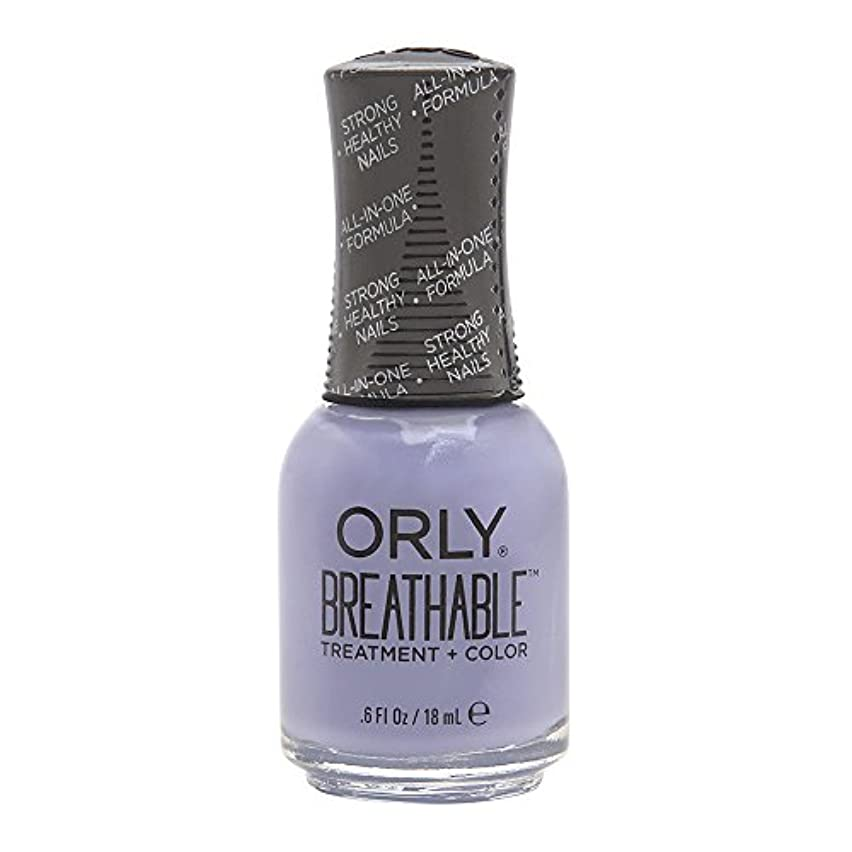Orly Breathable Treatment + Color Nail Lacquer - Just Breathe - 0.6oz/18ml