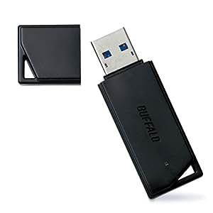 BUFFALO USB3.0対応 USBメモリ バリューモデル 8GB ブラック RUF3-K8GA-BK