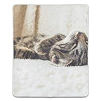 マウスパッド 寝ている猫 レーザー&光学マウス対応 防水/洗える/滑り止め サイズ:18 x 22 x 0.3 cm