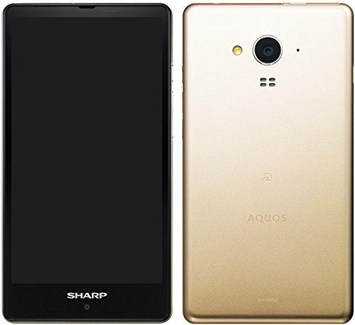 SHARP AQUOS SH-RM02 ゴールド SIMフリー