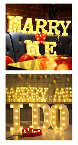 LED イルミネーション イニシャルライト アルファベットライト ホームイベント インテリア ギフト M