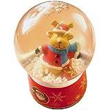 6cm クリスマス雪の結晶 雪の結晶 クリスマスシーン付き - ランダムなデザイン選択