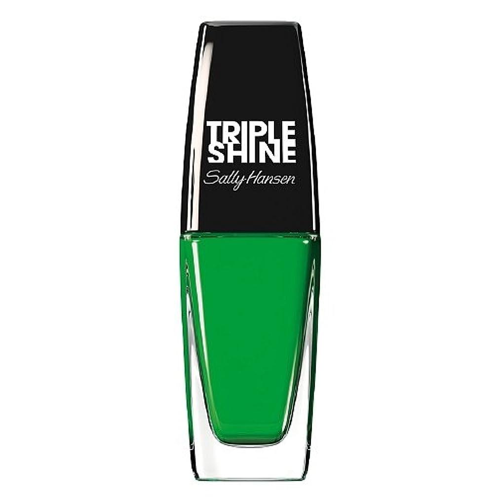 辛な人里離れたピジンSALLY HANSEN Triple Shine Nail Polish - Kelp Out (並行輸入品)