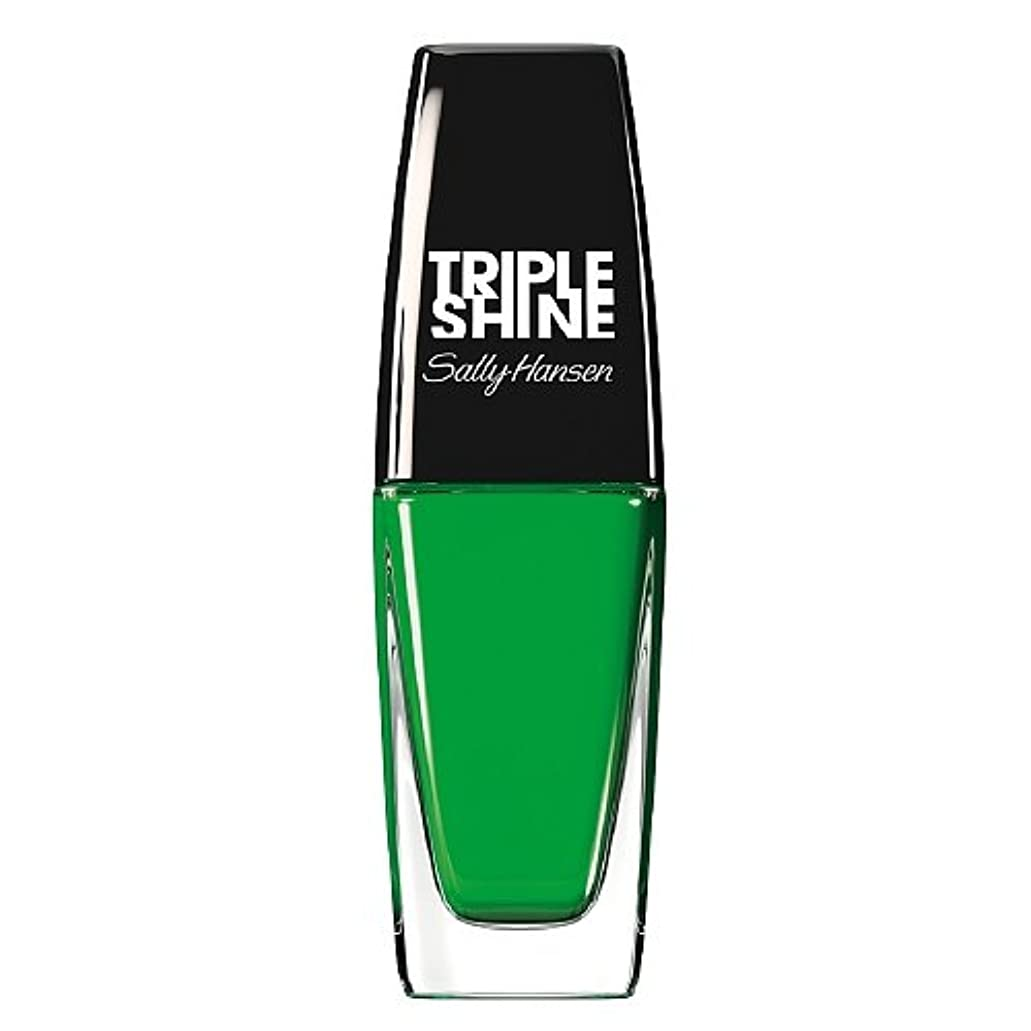 ミニ委員長無意識SALLY HANSEN Triple Shine Nail Polish - Kelp Out (並行輸入品)
