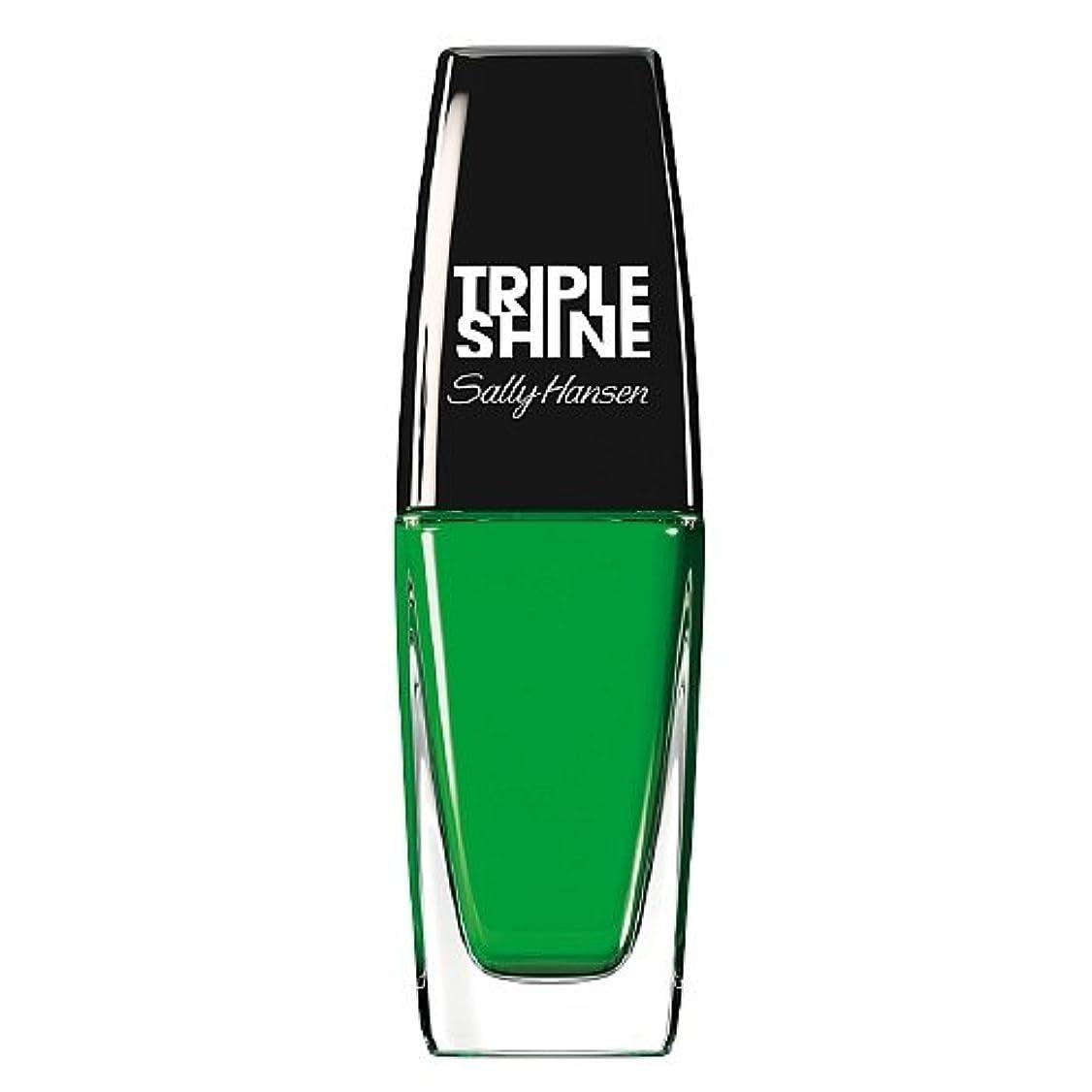 見捨てられた継続中誕生日SALLY HANSEN Triple Shine Nail Polish - Kelp Out (並行輸入品)