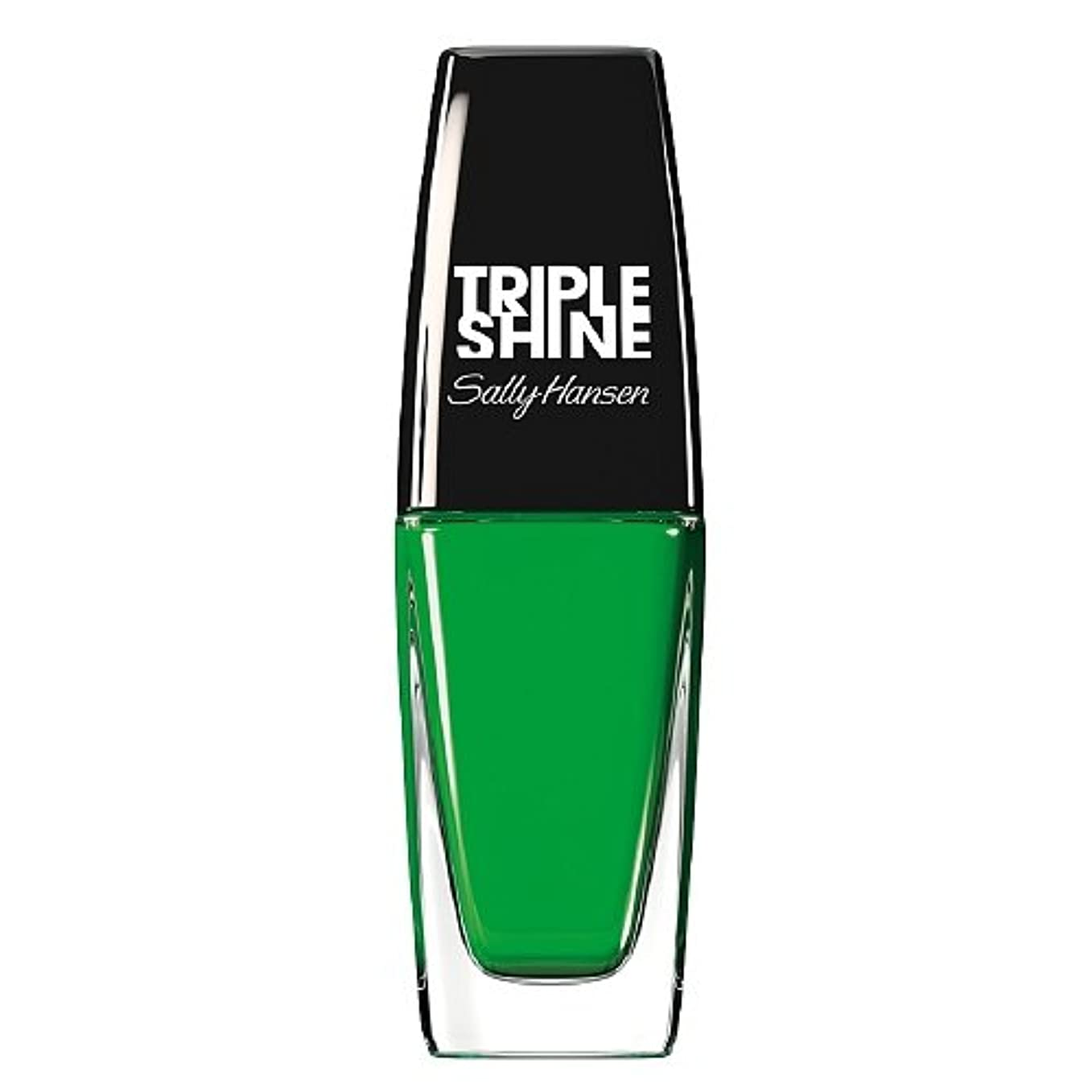 若者とにかくリテラシーSALLY HANSEN Triple Shine Nail Polish - Kelp Out (並行輸入品)