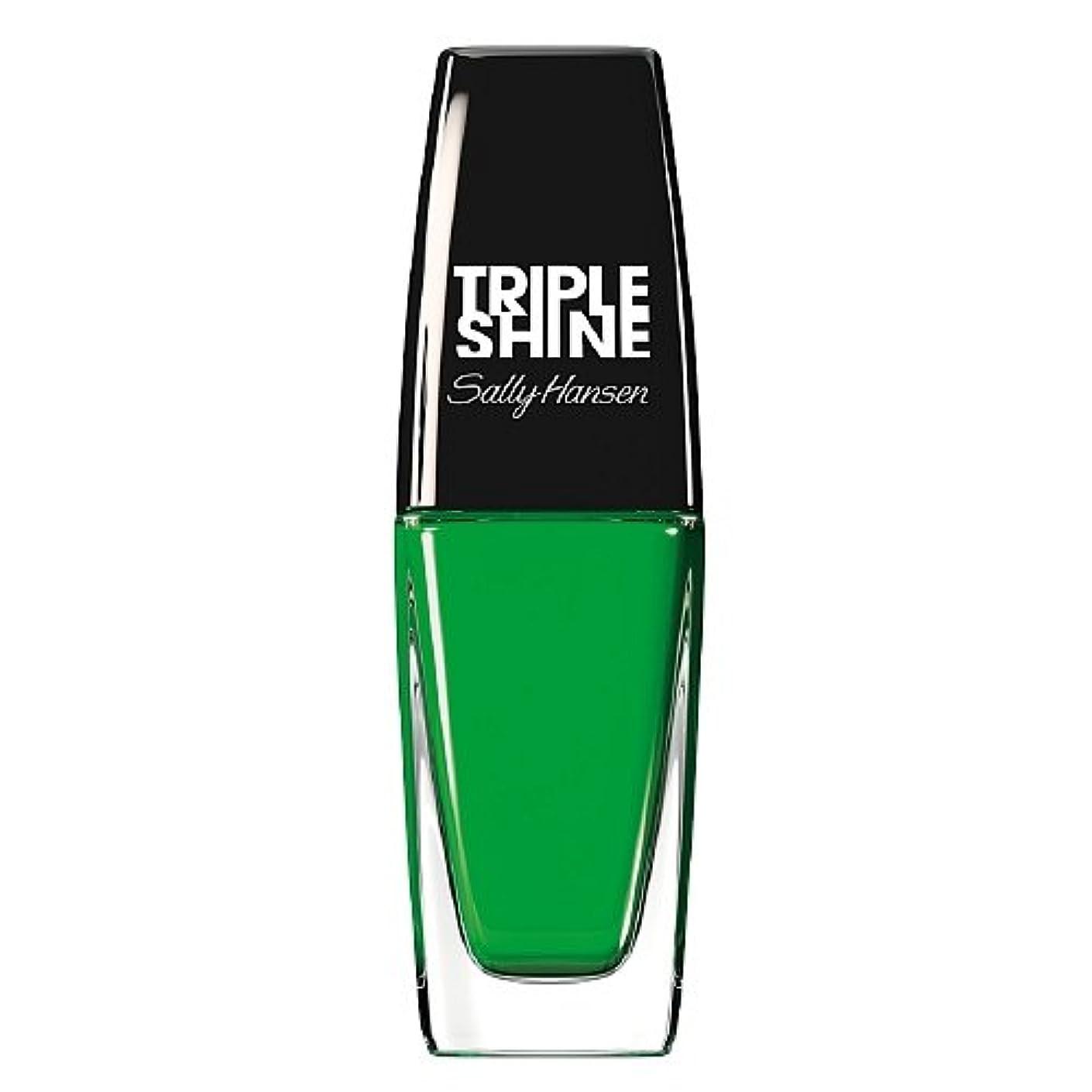 経営者バドミントンおばさんSALLY HANSEN Triple Shine Nail Polish - Kelp Out (並行輸入品)