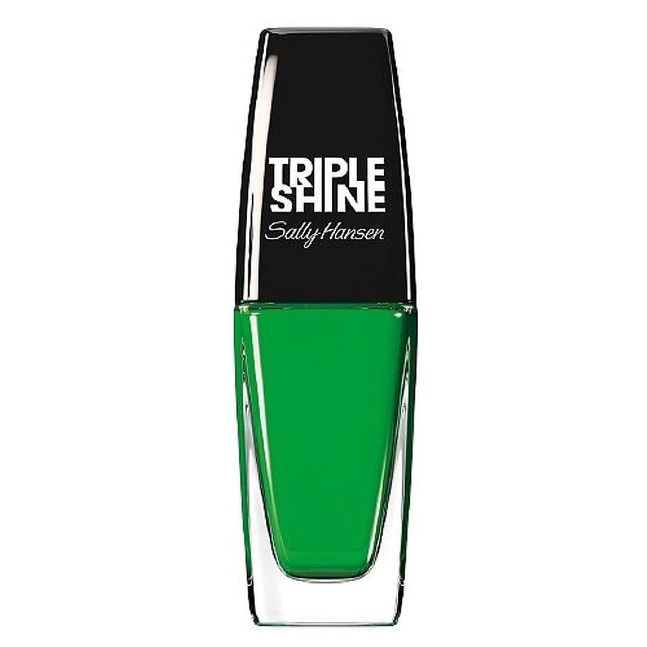 テクニカル休眠構築するSALLY HANSEN Triple Shine Nail Polish - Kelp Out (並行輸入品)
