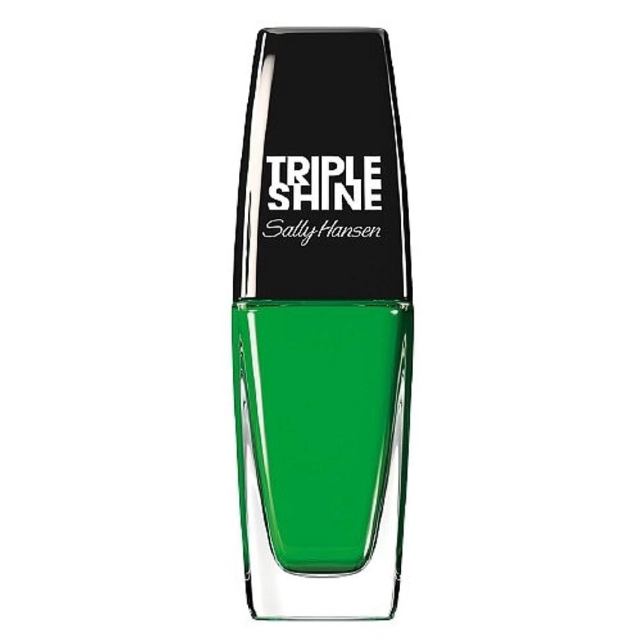 記憶スタイル領事館SALLY HANSEN Triple Shine Nail Polish - Kelp Out (並行輸入品)