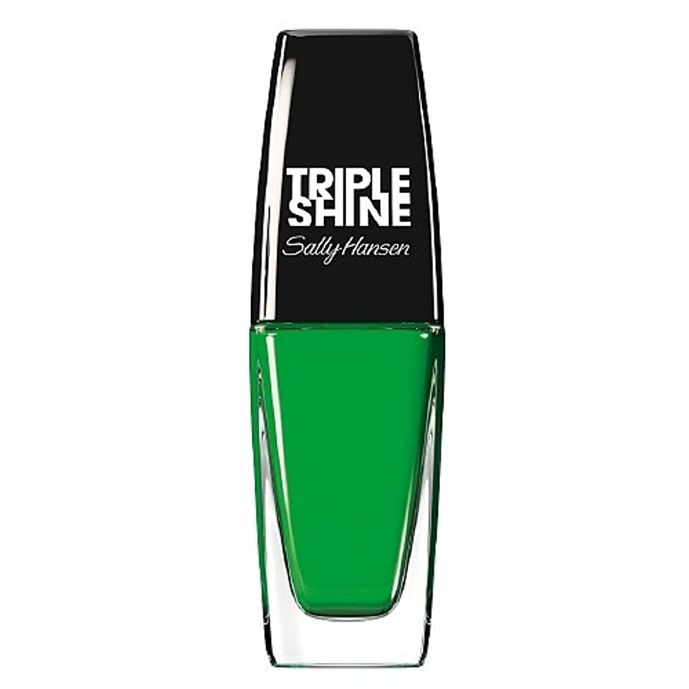 ラフ睡眠資本開発するSALLY HANSEN Triple Shine Nail Polish - Kelp Out (並行輸入品)