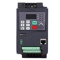 可変周波数インバーター、0.75KW VFD可変周波数駆動インバーターモーター速度制御1相から3相220VAC