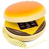 UTOKY 可愛くて食べっちゃう ハンバーガー チーズバーガー 電話機