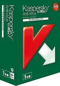 Kaspersky Anti-Virus for Mac 1年版