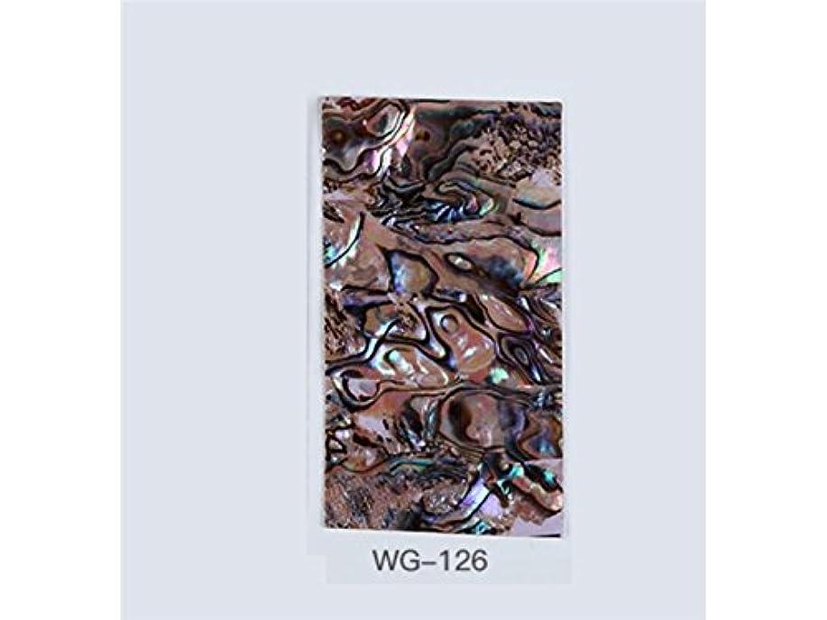不毛のスカートコンデンサーOsize クリアウォータートランスファーネイルステッカーネイルアートクラフトネイルアートデコレーション(図示)
