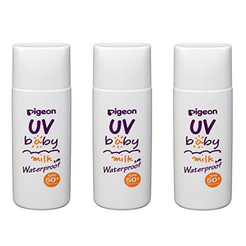 Mua ピジョン UVベビーミルク ウォータープルーフ SPF50+ 50g (3個 ...