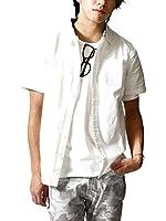 (ジップファイブ) ZIP FIVE 7分袖+半袖パナマシャツ/メンズ ファッション D