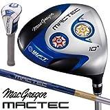 マグレガー MACTEC マックテック DS101 ブルードライバー DS9342F DS9342F 10度 S 45.5インチ
