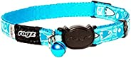 Rogz Fancycat Safeloc Collar Bubble Fish 11mm