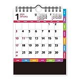新日本カレンダー 2021年 カレンダー 卓上 コンパクトカラー NK8508