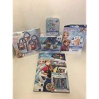 アナと雪の女王 6個。 セットには2つのライフカラーブック/クレヨン/48ピースパズル/63ピースパズル/タトゥー/4ピースが含まれます。 Surpirse Treat Boxes