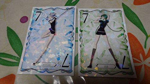 宝石の国 ビジュアル カード 2種セット ジェード ユークレース アニメイト 第5弾