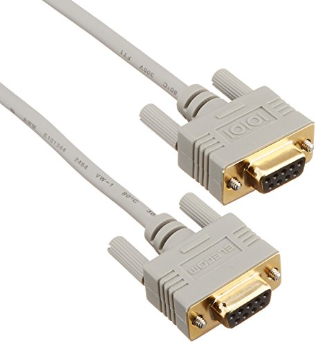 エレコム RS-232Cケーブル(9pinメス-9pinメス) 1.5m C232N-915