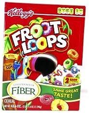 Kellogg's Froot Loops 1.24kg ケロッグ フルーツループ マルチグレイン・シリアル Big サイズ[並行