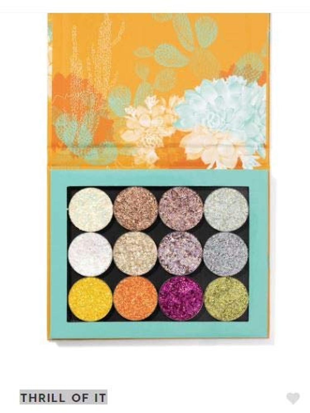 渇きアルミニウム複雑カラーポップ ColourPop THRILL OF IT アイシャドウ eyeshadow