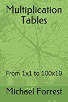 Multiplication Tables: From 1x1 to 100x10