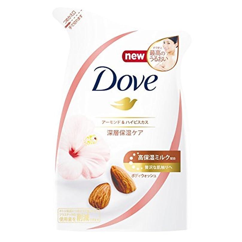 フィールドパシフィック貝殻Dove ダヴ ボディウォッシュ アーモンド & ハイビスカス つめかえ用 340g