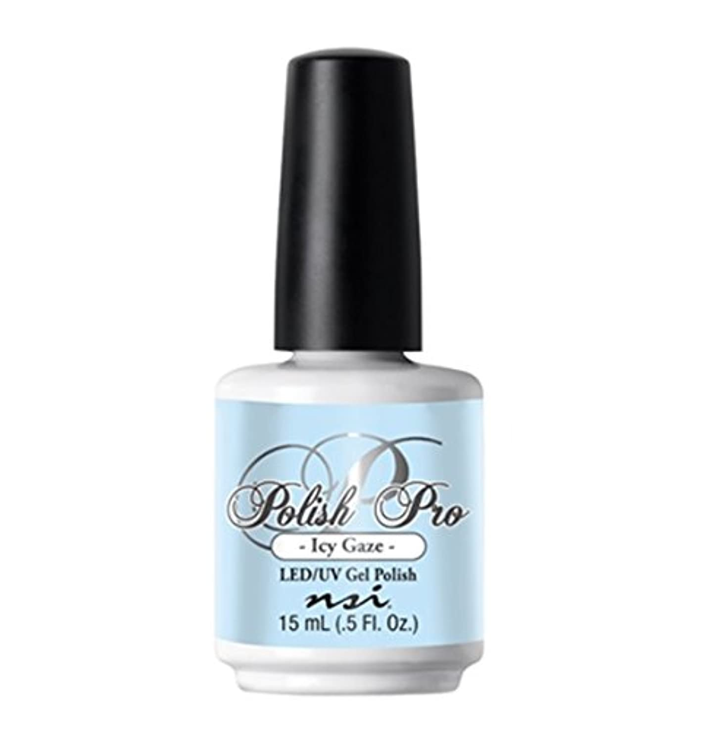 差別化する損なう操作可能NSI Polish Pro Gel Polish - The Ice Queen Collection - Icy Gaze - 15 ml/0.5 oz