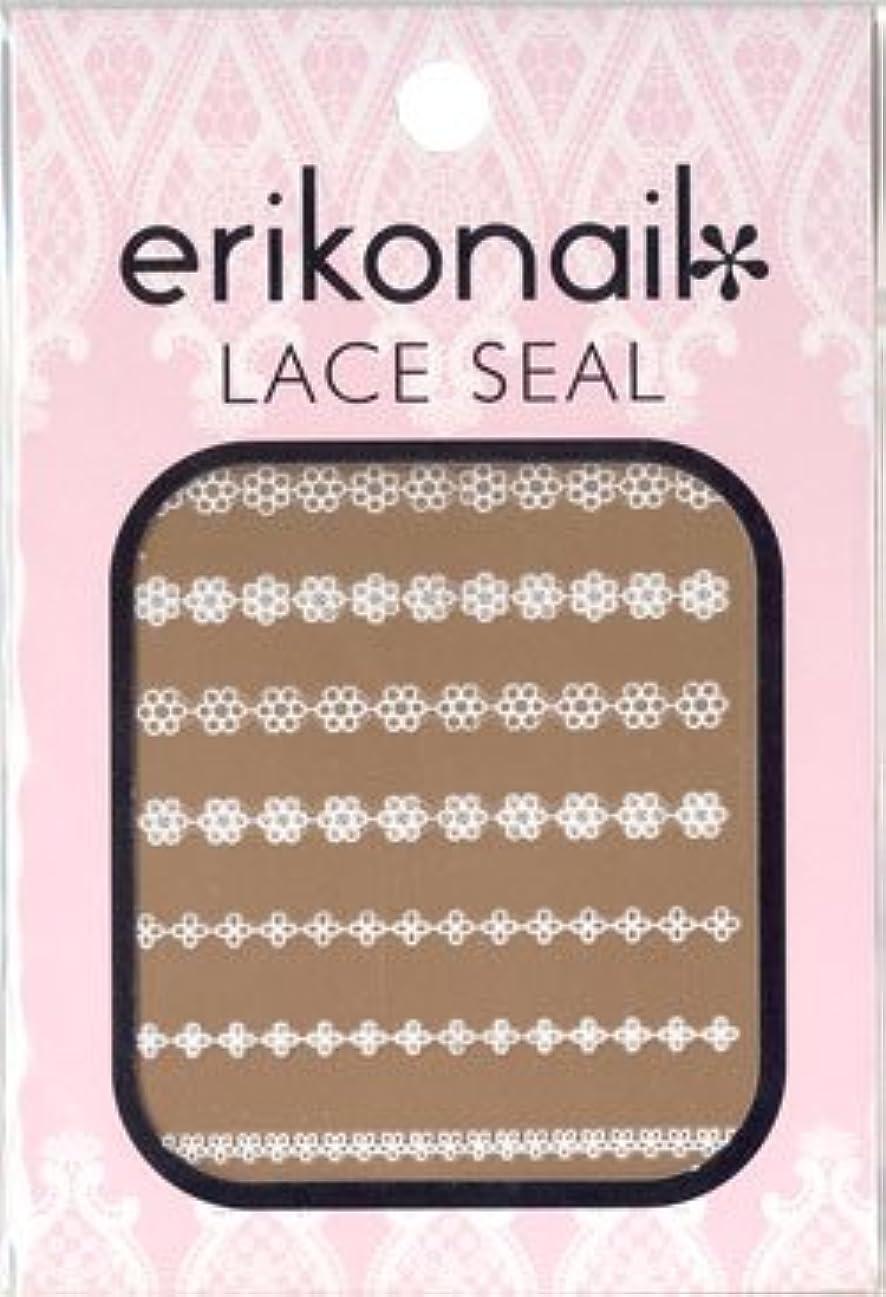 クリスマス硬化する幾何学erikonail エリコネイルレースシール erikonail LACE SEAL ELS-3