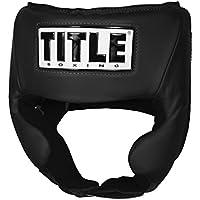 TITLE USA ボクシングアマチュア競技用ヘッドギア (チーク付き)