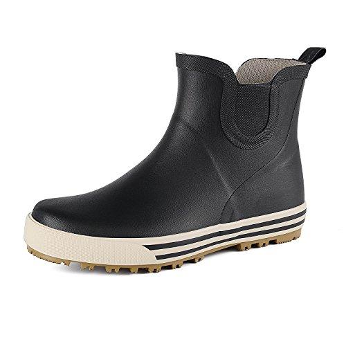 クス,レインブーツ,高品質の天然ゴム製 メンズレインブーツ,軽量,快適,耐滑 - 魚釣り,農作業,水仕事などアウトドアの必要品,雨靴