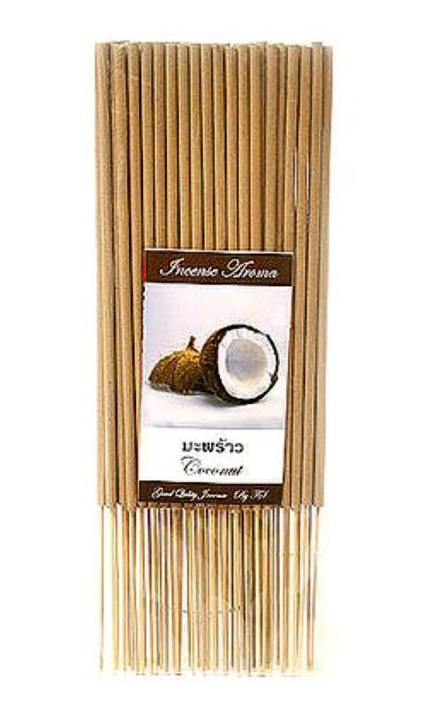 タイのお香 スティックタイプ [ココナッツ] インセンスアロマ 約50本入り アジアン雑貨