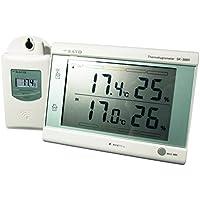 佐藤計量器(SATO) 最高最低無線温湿度計(熱中症注意レベル表示付) SK-300R