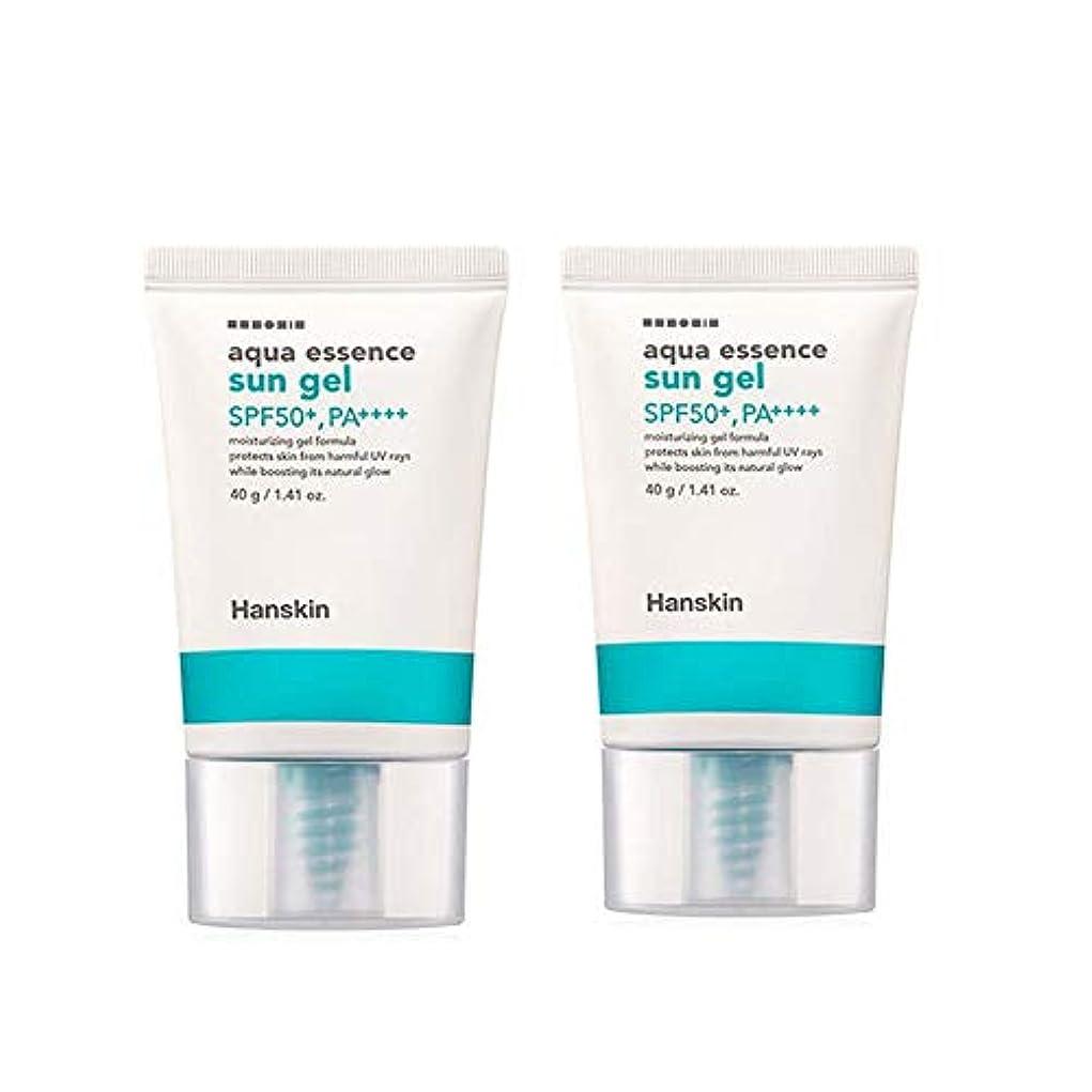 ドックブート食べるハンスキンアクアエッセンスサンゼル40gx2本セットサンクリーム韓国コスメ、Hanskin Aqua Essence Sun Gel 40g x 2ea Set Sun Cream Korean Cosmetics [並行輸入品]