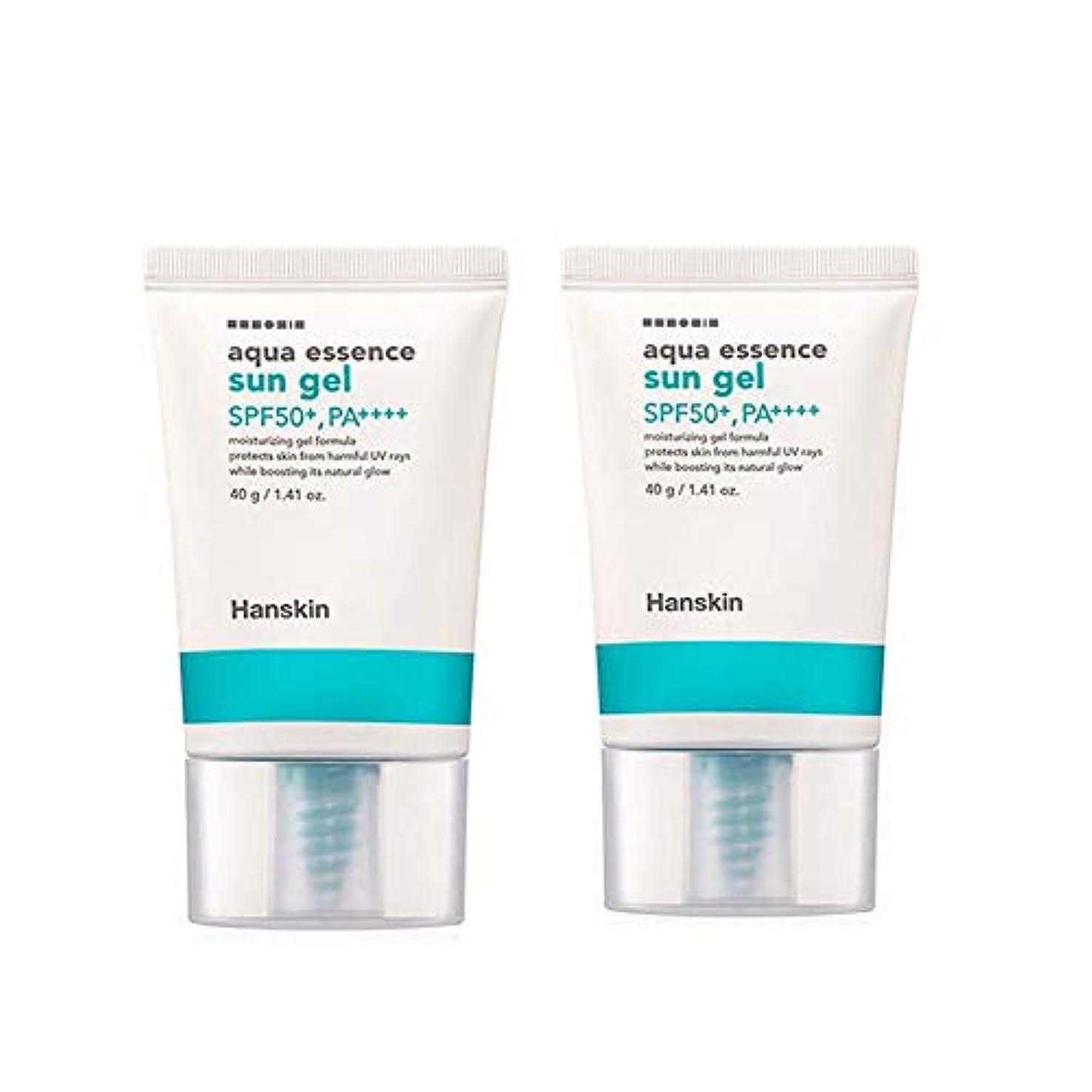 リビジョン外観どれでもハンスキンアクアエッセンスサンゼル40gx2本セットサンクリーム韓国コスメ、Hanskin Aqua Essence Sun Gel 40g x 2ea Set Sun Cream Korean Cosmetics [並行輸入品]