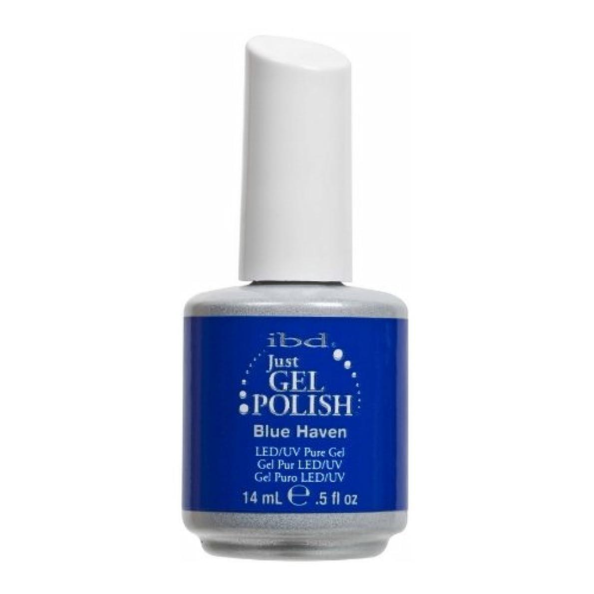 つづり週間悪名高い(3 Pack) ibd Just Gel Polish - Blue Haven (並行輸入品)