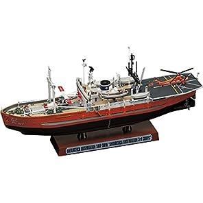 ハセガワ 1/350 海上保安庁 南極観測船 宗谷 第三次南極観察隊 プラモデル Z23